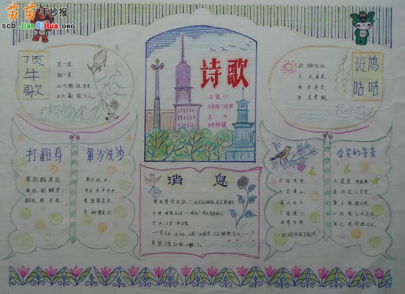 《关于祖国的名言》手抄报资料,小学生英语手抄报资料二,中秋节手抄报