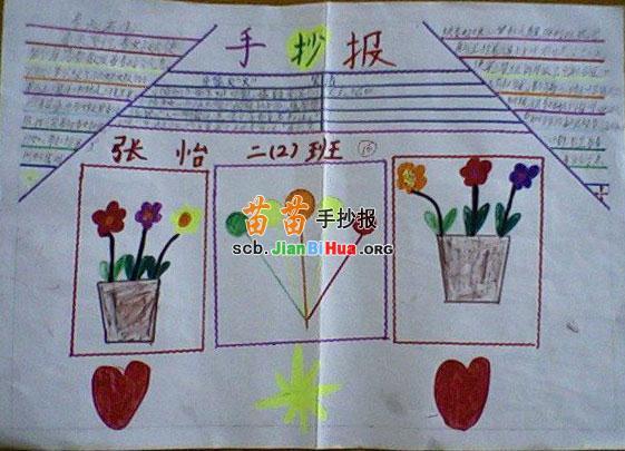 小学二年级手抄报内容