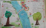 小学生四年级防溺水手抄报