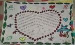 小学四年级感恩的心手抄报