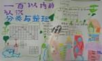 一百已内的认识分类与整理数学手抄报图片、内容