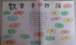 四年级数学手抄报图片大全、内容