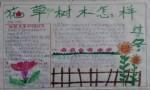 花草树木怎样过冬植物手抄报图片、资料
