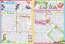 中学生英语手抄报版面设计图
