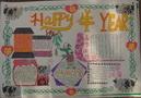 五年级新年手抄报