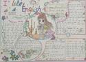 初三英语手抄报版面设计图